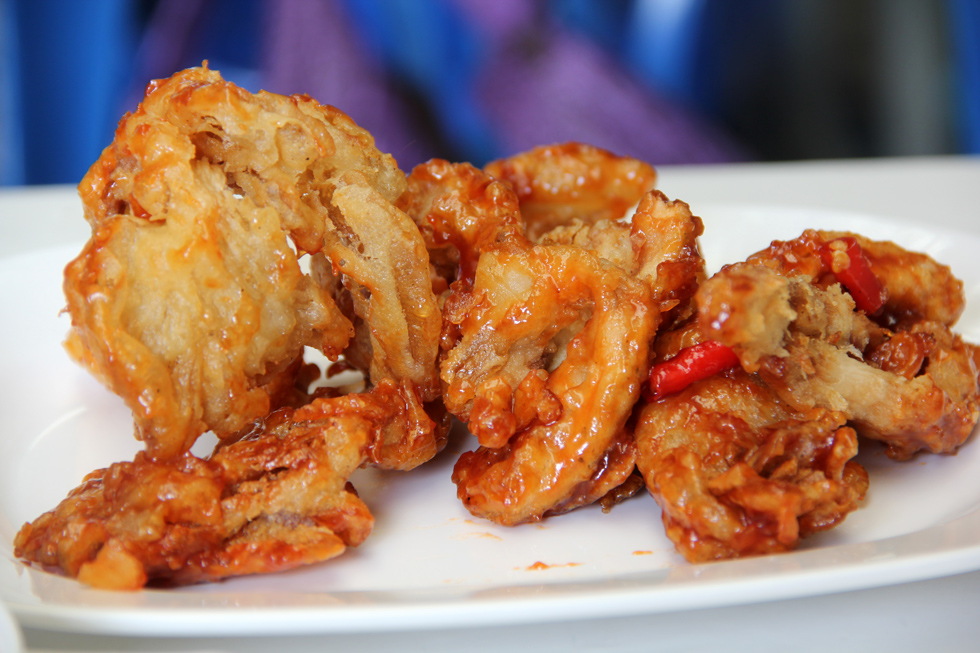 1. Deep Fried Mushrooms