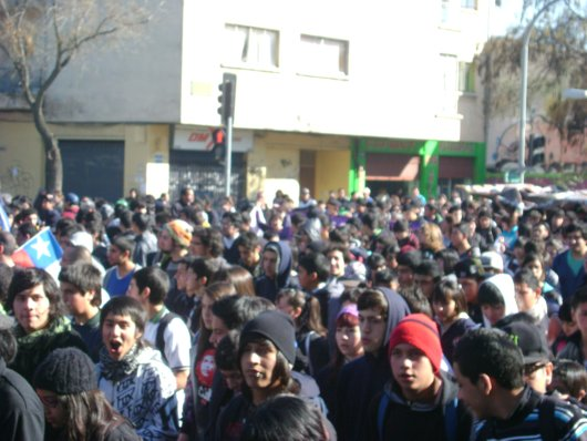 Young Chileans Rise Up Against a Market-based Education System
