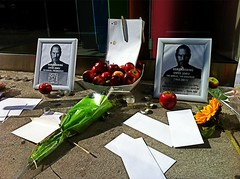 Apple Store - 1321 Rue Ste-Catherine Ouest (Steve Jobs Tribute)