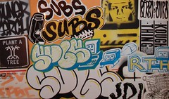 SUBS (BNW818) Tags: art graffiti thing sub stickers tuner subs jdi serch rth kough slaptags berbo stellconfused