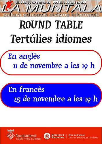 Round table novembre by bibliotecalamuntala