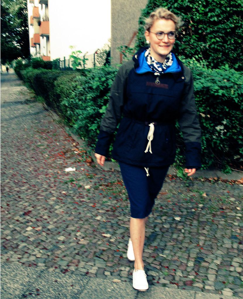 Berlin Wochenende + Barbour Überzieher