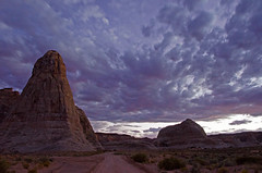 Impulse (dbushue) Tags: arizona sky storm southwest nature clouds landscape evening scenery rocks colorful desert patterns direction page dirtroad formations impulse 2011 coth supershot naturesgarden absolutelystunningscapes damniwishidtakenthat coth5 dailynaturetnc11