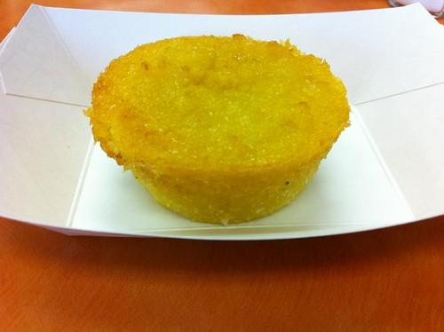 Corn/Coconut dessert