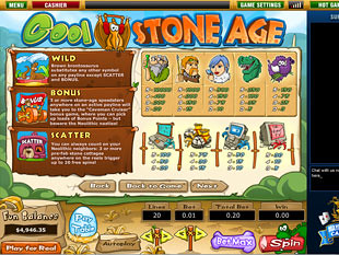 free Cool Stone Age slot mini symbol