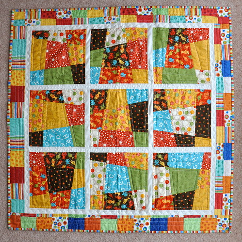 Fiona's quilt made for Theo