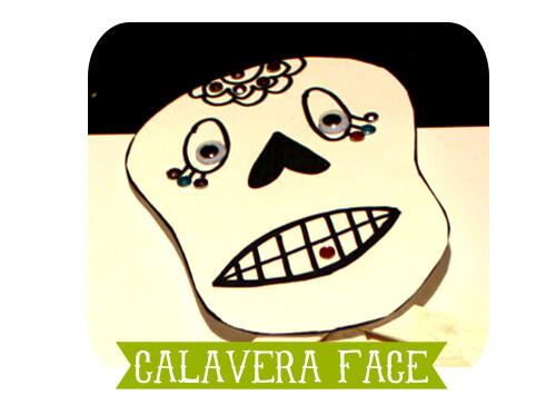 Calavera face