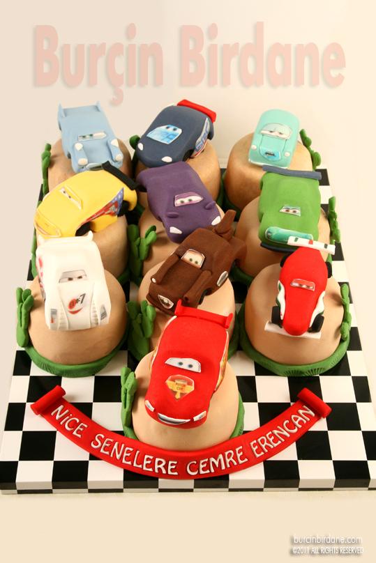 Disney Cars 2 Cake