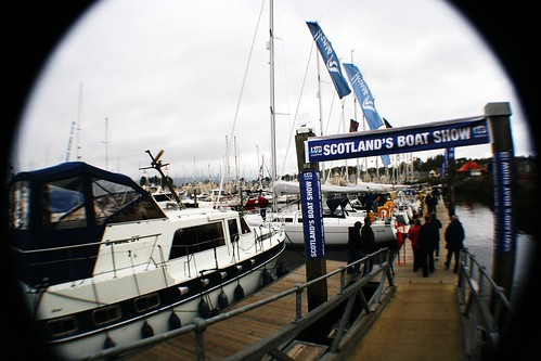 Entrance to Scotland's Boat Show