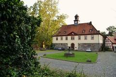 Licher Schloss (JasFin) Tags: hessen herbst schloss altstadt schlosspark schlossgarten fachwerk lich giesen