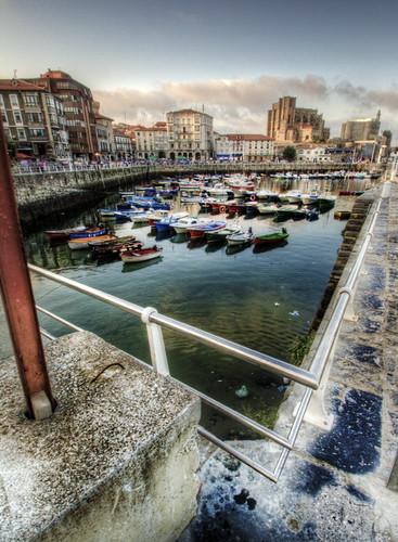 Harbour. Castro-Urdiales, Cantabria. Puerto