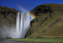 Iceland - Rainbow at Skgafoss Waterfall ( Saleh AlRashaid / www.Salehphotography.net) Tags: canon photo waterfall iceland rainbow long exposure outdoor 70200 saleh skgafoss  leefilters  alrashaid salehphotographynet