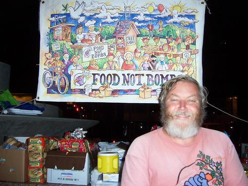 Keith McHenry, one of the founders of Food Not Bombs