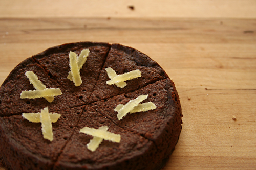 ginger brownies 5