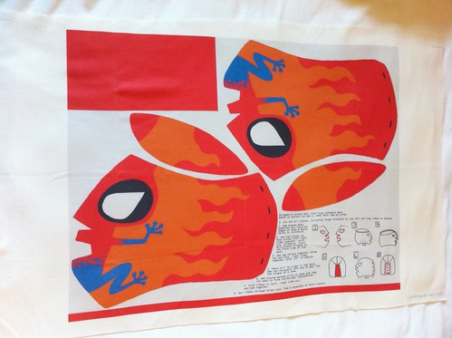 Wrestling mask fabric
