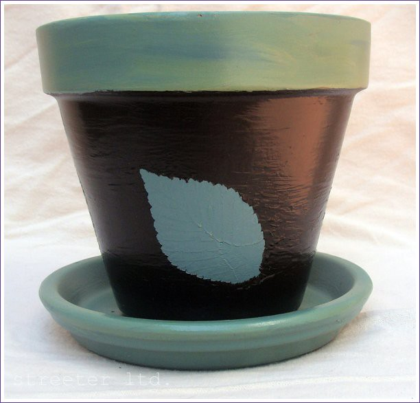 six inch flower pot