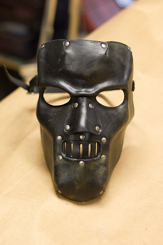 Horror Handmade Leather Mask