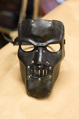 Horror Handmade Leather Mask (Osborne Arts) Tags: halloween leather costume mask cosplay horror masquerade mardigras larp accessory leathermask