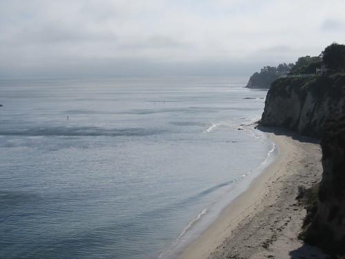 beach yesterday