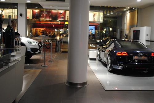 Audi Q3 och R8