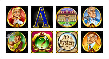 free It's a Mystery slot game symbols