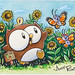 "Owly in the Sunflowers!!! • <a style=""font-size:0.8em;"" href=""http://www.flickr.com/photos/25943734@N06/6267541993/"" target=""_blank"">View on Flickr</a>"
