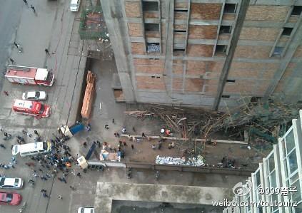 凯旋大厦脚手架坍塌事件