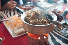 Muttor Alu (Potato & Pea Curry) @ Safari Grill