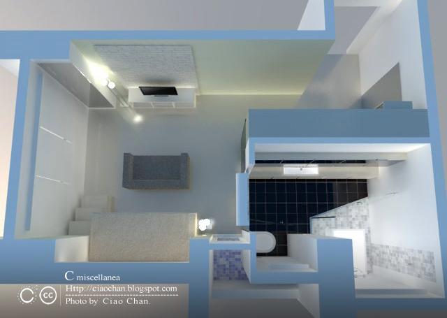 小坪數室內設計-測試Vray 3-00