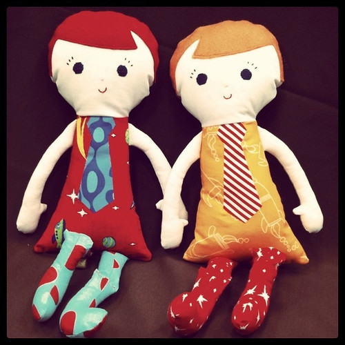 custom dollies: percy boy dolls