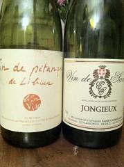 2010 Domaine Eugene Carrel Vin de Savoie Jongieux & Mas de Libian Vin de Petanque