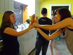 baguette fight