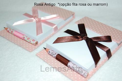 Rosa Antigo Lembrancinhas by LEME´S ARTE / By Helenita Leme