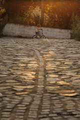 (aLexDoULoU) Tags: street beautiful bike canon kid afternoon greece flare vlasti kozani     alexdoulou