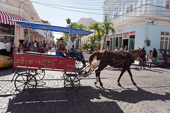 Charrette (hubertguyon) Tags: street city horse island cheval cuba ile cart rue cienfuegos ville charrette amérique amériquelatine
