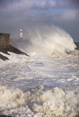 PORTHCAWL HARBOUR, SOUTH WALES....EXPLORE (IMAGES OF WALES.... (TIMWOOD)) Tags: ocean county wood sea lighthouse wall wales bristol tim big high gallery waves katia harbour sony south tide hurricane large www atlantic killer massive huge com swirl rough alpha winds channel breakwater bridgend swirling porthcawl a700