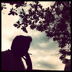 ปลานิลรมควัน | #smoking#man