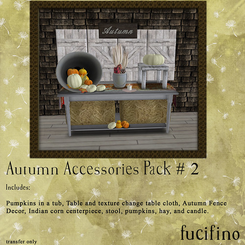fucifino - autumn accessories pack # 2 for La Venta Eventa