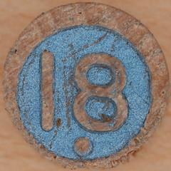 Wooden Bingo Number 18 (Leo Reynolds) Tags: canon eos iso100 number squaredcircle lotto 60mm f80 18 bingo loto eighteen group9 housie housey groupnine 0sec 40d hpexif numberset numberbingo houseyhousey xsquarex housiehousie bingoset16 xleol30x sqset069