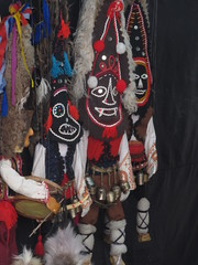 Bulgarian craft- puppets at a market in Razgrad (2010 Till When?) Tags: travel travelling art bike craft adventure puppets bulgaria bikeride worldtour cycletouring bulgaristan razgrad  balgariya adventurecycle  republikabalgariya merbus 2010tillwhen strawberryavenue www2010tillwhencom worldcycle wwwstrawberryavenuecom wwwalpkitcom wwwmerbuscom englishbicyclecouple