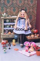 Licca for 'Tiny Feet' magazine: Alice