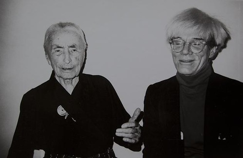 Georgia O'Keefe and Andy Warhol