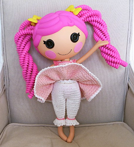 Crocheted clothes for Lalaloopsy doll - updated with shoe ...