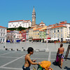 The pastel colors of the medieval town Piran (B℮n) Tags: old sea streets heritage architecture square geotagged coast town mediterranean gulf cathedral pirates gothic charm historic slovenia era tribes venetian walls piran slovenija viewpoint picturesque narrow cultural adriatic alleys istria slovene pirano slovenië tartini istrian preroman histri giuseppi illyrian georgius obzidje gulfofpiran piransko geo:lon=13568284 geo:lat=45528308