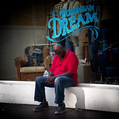 Dreaming (OskarROBERTson) Tags: nyc newyorkcity sleeping newyork square sleep sony soho dream dreaming sidewalk nex