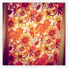 Viscose floral throw,etc