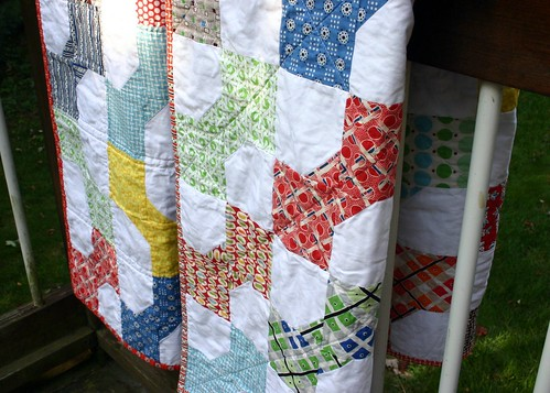 Bowtie Quilts - hanging
