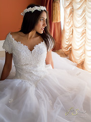 fotosiamo.com | Nellie (fotosiamo) Tags: wedding white window floral beauty photography bride persian model modeling models romance photograph bridesmaid nellie pure weddinggown fotosiamo