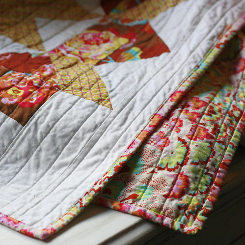 Swoon Quilt back