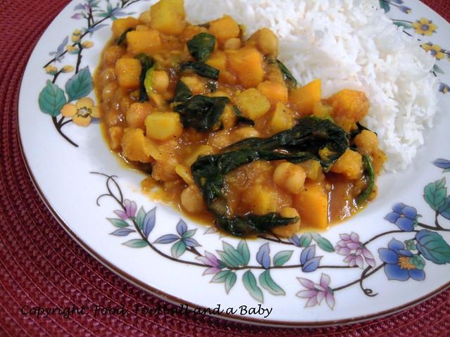 Chickpea Squash Stew 2